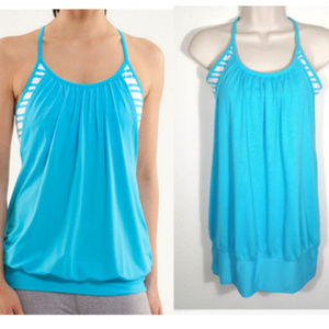 LULULEMON No Limits Tank Top Twin Stripe 2014E1